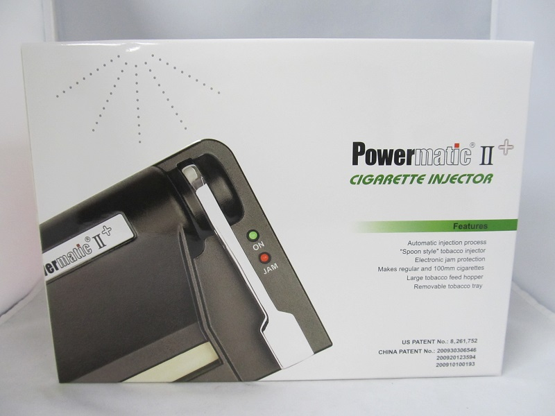 powermatic 2 electric cigarette injector machine troubleshooting