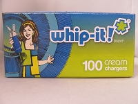 Whip-it! Brand Cream Charger 600ct Master Case