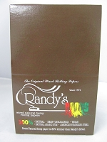 Randy's Roots Hemp Wired 1-1/4 Slim Rolling Papers 25Booklets