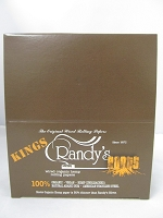 Randy's Roots Organic Hemp Wired King Size Rolling Papers 25Booklets