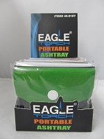 EAGLE TORCH® Portable Ashtray Pouch 10ct Display