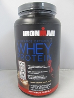 Iron Man Whey Protein Powder 33oz Stash Can