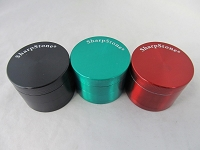 Sharpstone 53mm Color Zinc 4 Part Grinder