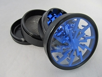 Lightning Bolt 63mm Aluminum 4 Part Grinder