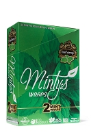Minty's Mint Herbal Blunt Wraps 25ct
