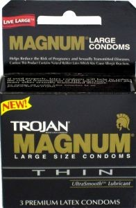 Trojan MAGNUM Thin Lubricated Condoms 6 pk