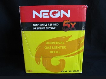 Neon Butane 5X 12ct out of stock