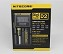 Nite Core D2 Digital Intelligent Lithium Ion Double Battery Charger