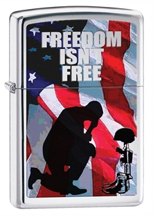 Zippo: Freedom Isn't Free Soldier # 28336