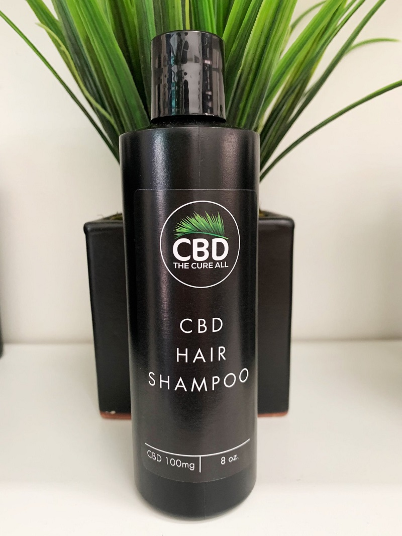 CBD The Cure All Hair Shampoo 100mg 8oz