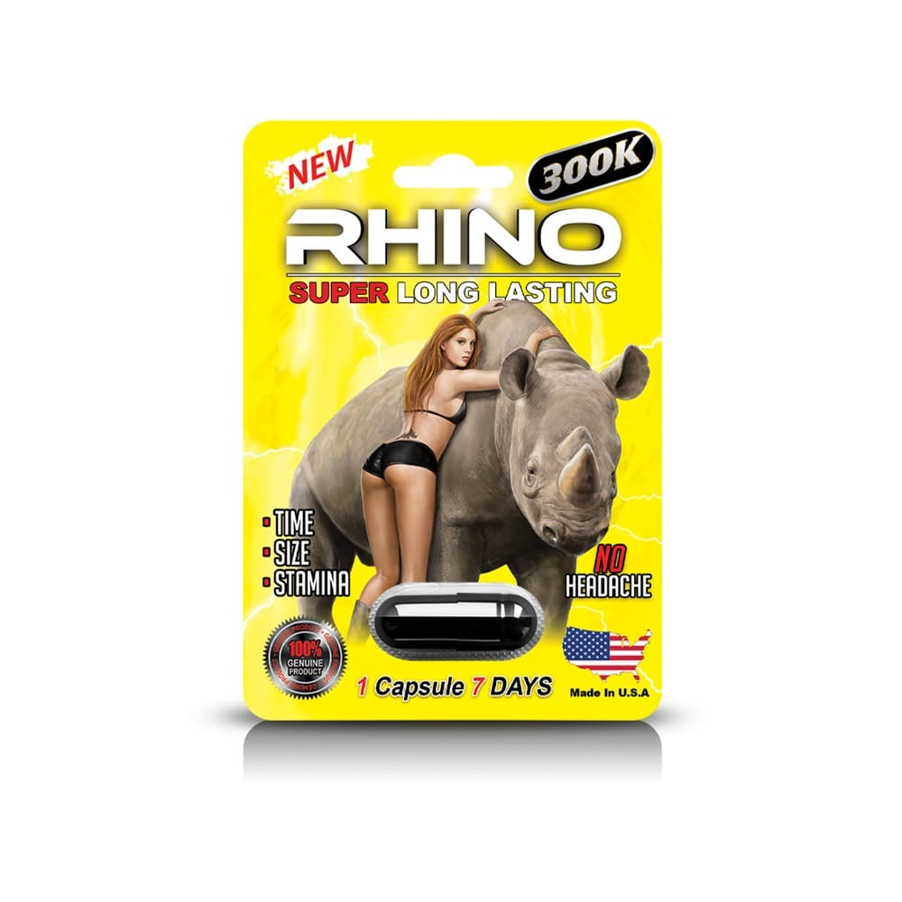 Rhino 300K Male Enhancement 24ct Display