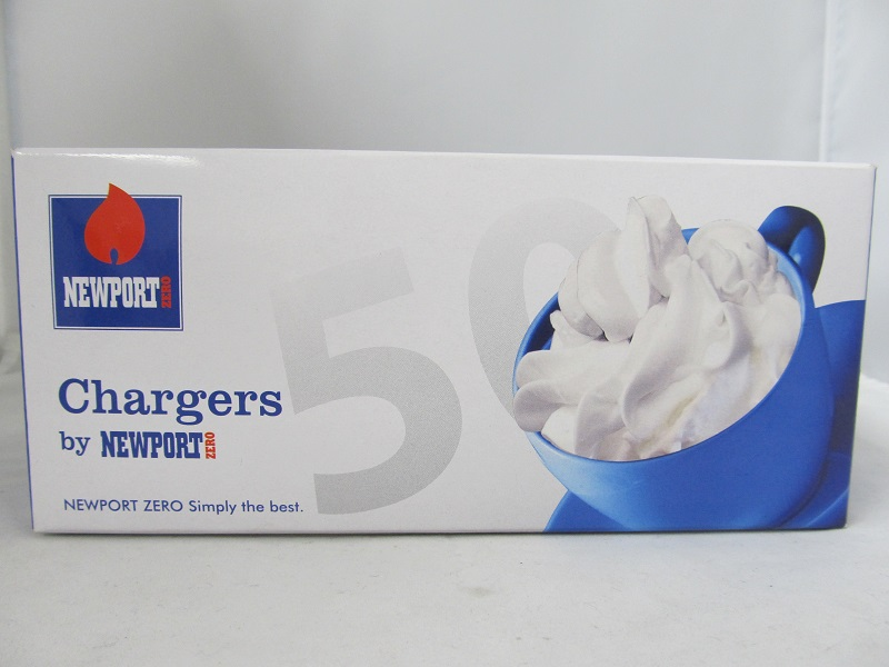 Newport Cream Chargers 600ct Master Case