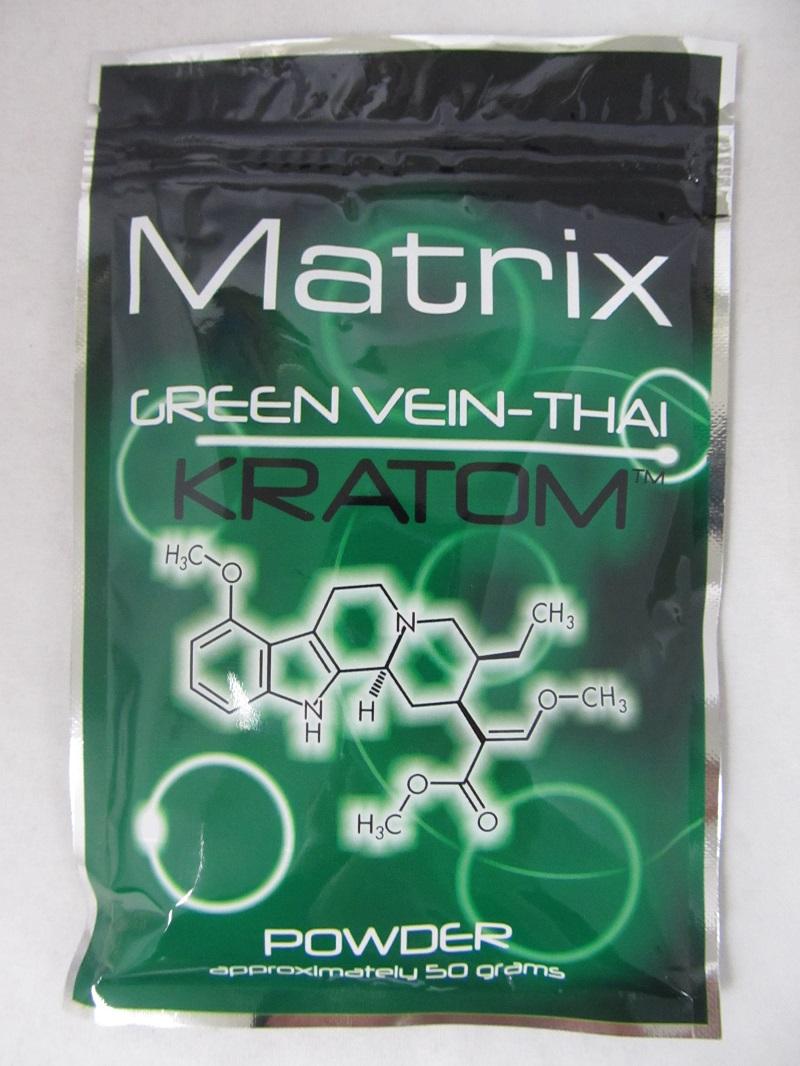 Matrix Green Vein Thai Kratom Powder 50 Grams