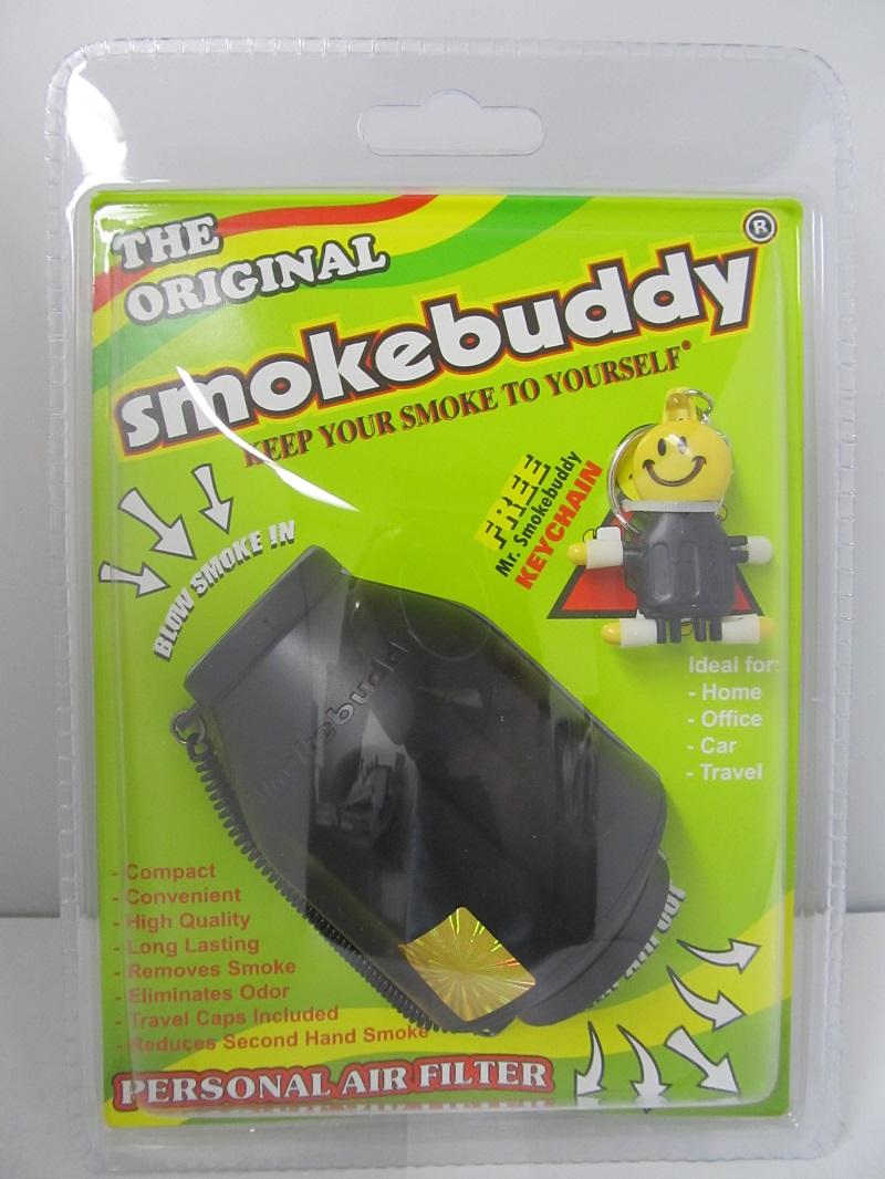 The Original Smoke Buddy Personal Air Filter Black