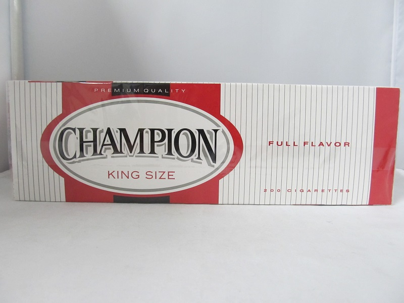 Champion All-Natural Tobacco Alternative Pack 10/20 CIGARETTES - King