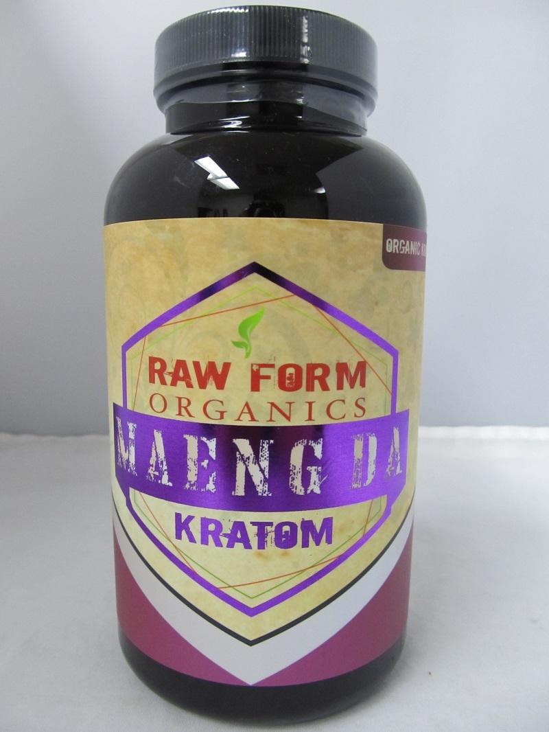 Raw Form Organics Gold Maeng Da AMETHYST 300ct Bottle