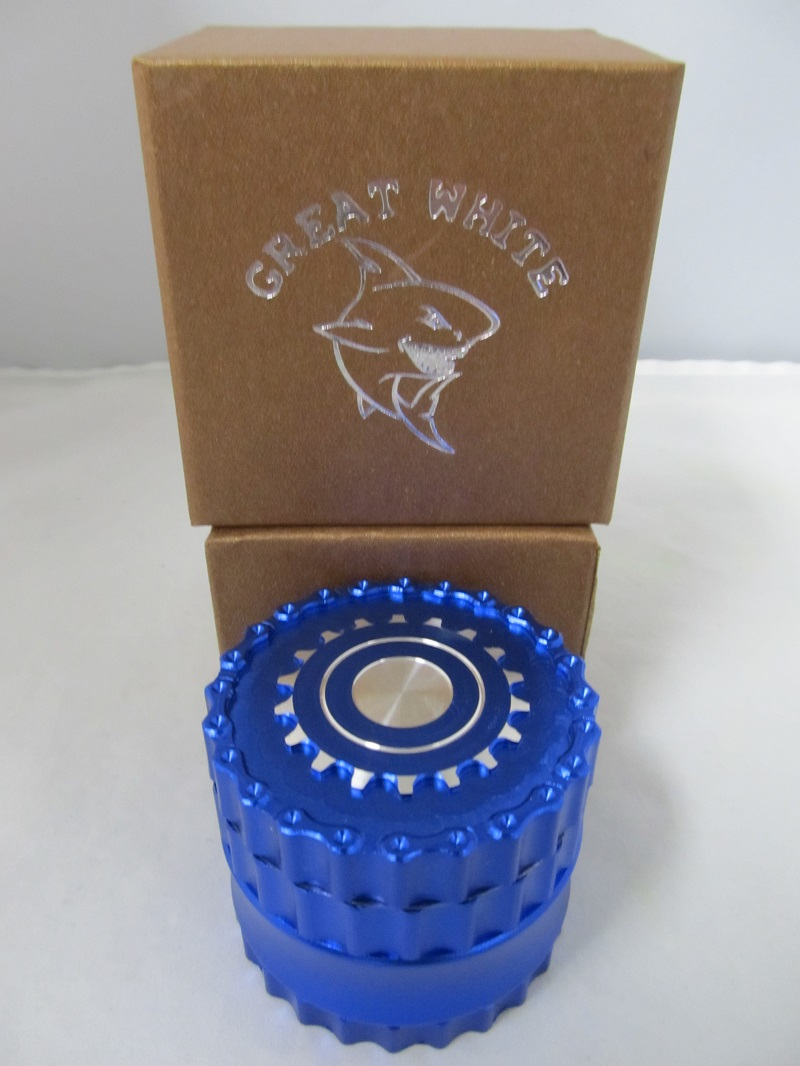 ''''''NEW'''' Great White 4 Part Gears Grinder (Blue)''