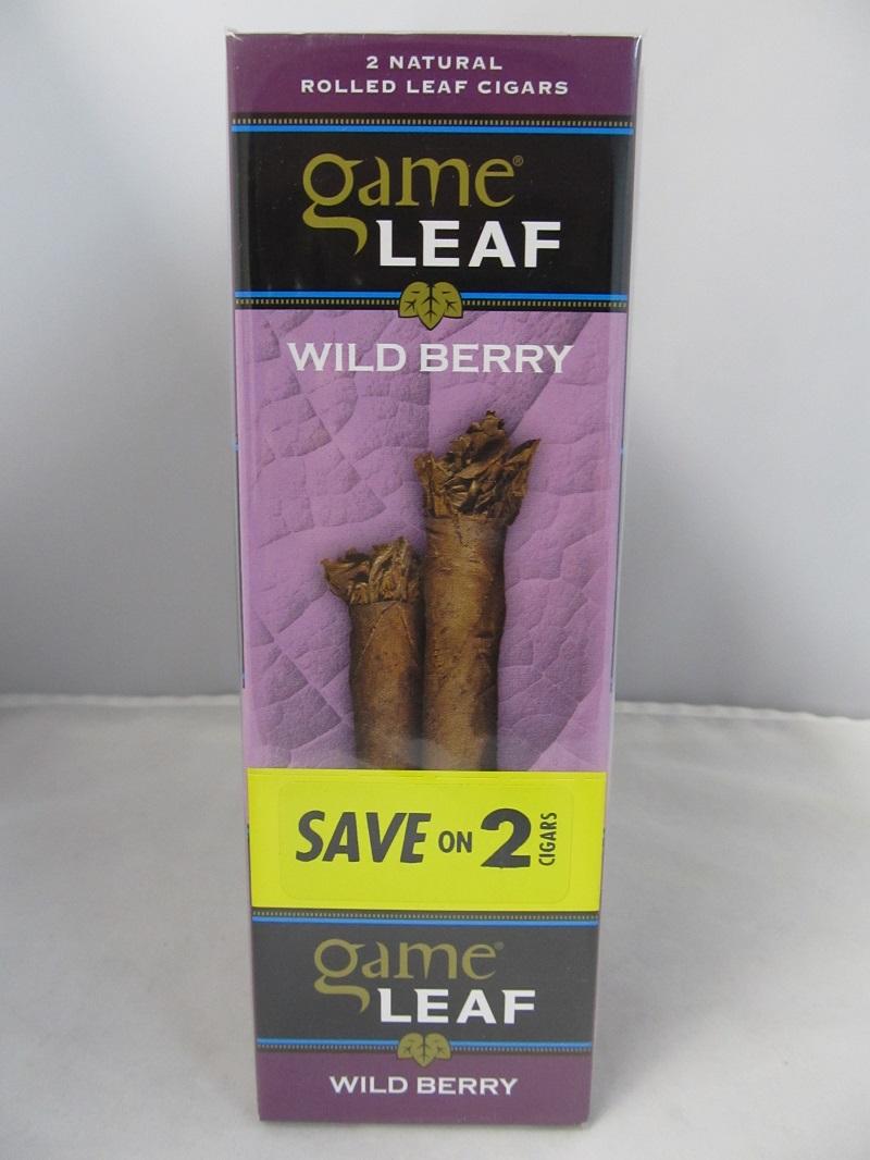 Game Leaf Wild Berry By Garcia Y Vega 30ct Display