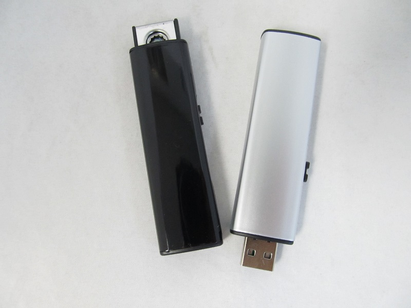 USB Coil Rechargeable Lighter Metallic Finish 1ct