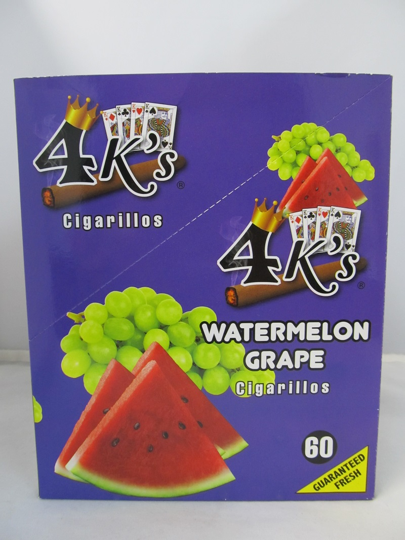 4K's Cigarillos 4pk 60ct Pouch (Watermelon Grape)