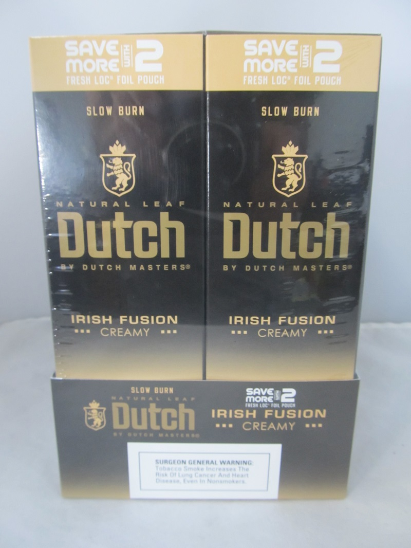 Dutch Master Deluxe Save More With 2- 2/30ct Pouch (Irish Fusion)
