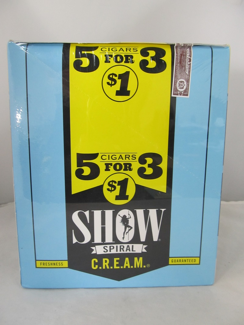 Show Cigarillos 5 Cigars For $1 ~ 15ct Pouch (C.R.E.A.M.)