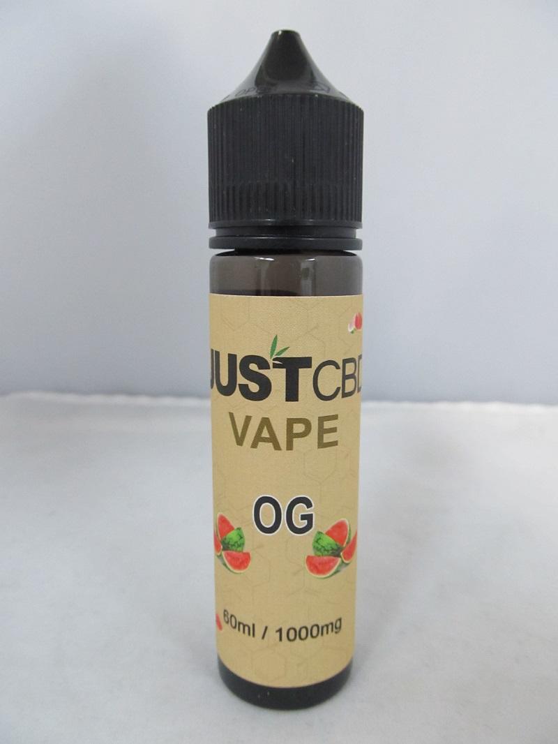 Just CBD Vape E-Juice 1000mg 60ml OG Kush