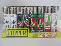 Clipper Refillable Lighter California 48ct Display