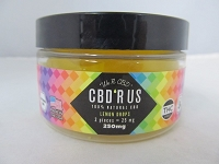 CBD R US Edible CBD 250mg Jar (Lemon Drops)