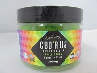 CBD R US Edible CBD 750mg Jar (Apple Drops)