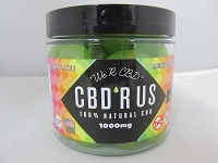 CBD R US Edible CBD 1000mg Jar (Apple Drops)