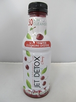 Jet Detox 30 Minute Cleanser 16oz (Cherry)