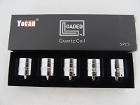 Yocan Loaded Quartz Quad Coil (Wax) 5ct