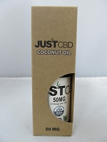 Just CBD Coconut Oil Drops 30ml 50mg