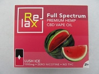 Relax Prefilled CBD POD 100mg Berry Lush Ice