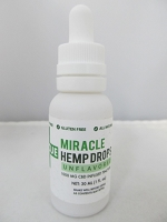RESCUE Miracle CBD Hemp Drops 30ml 1000mg Tincture (Unflavored)
