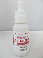 RESCUE Miracle CBD Hemp Drops 30ml 1000mg Tincture (Strawberry)