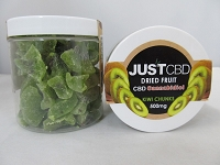 Just CBD Dried Fruit 500mg Kiwi Chucks