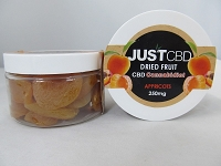 Just CBD Dried Fruit 250mg Apricots