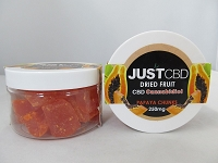 Just CBD Dried Fruit 250mg Papaya Chunks