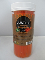 Just CBD Sour Orange Honey Sticks 10mg Per Stick 60ct Jar