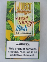 JUST Mango 5% 4ct PODS Sweet Mango Fresh