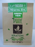 Matrix Botanicals Premium Pure Green Vein Kratom Series 150 Capsules
