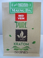 Matrix Botanicals Premium Pure Red Vein Kratom Series 150 Capsules