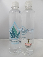 Second Wind Hydro CBD Water 24ct Case 16.9 fl oz Bottle