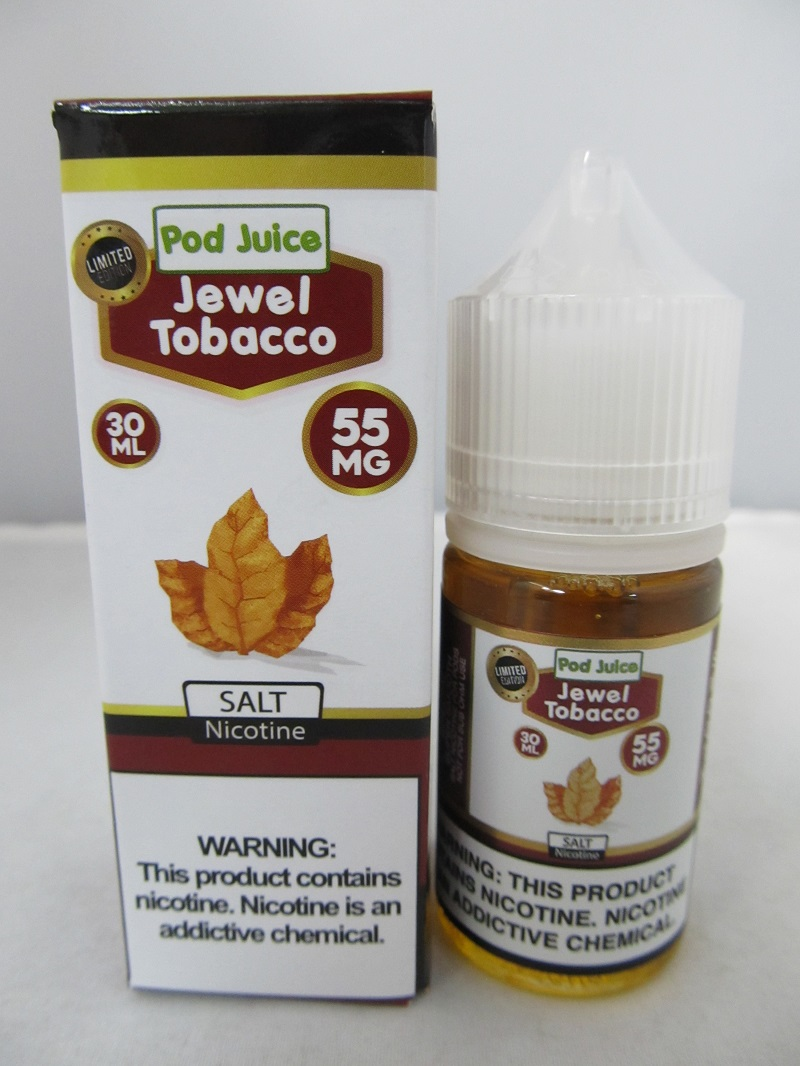 POD Juice 55mg Salt Nic 30ml (Jewel Tobacco)