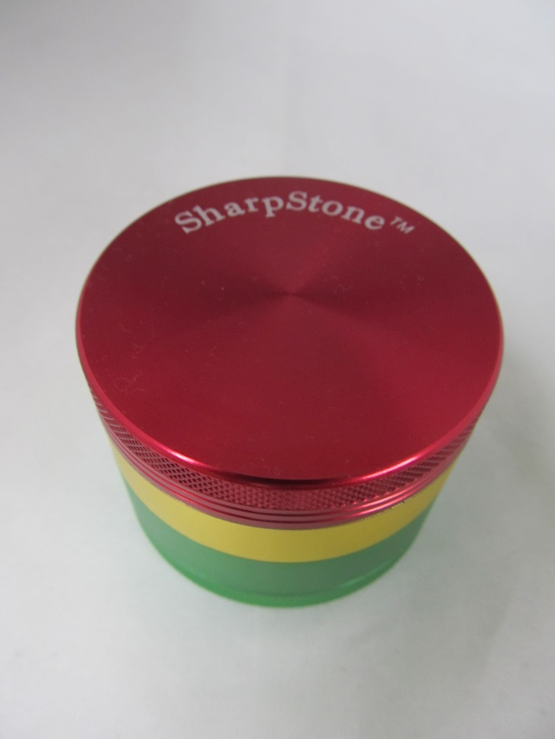 Sharpstone 63mm Rasta 4 Part Grinder