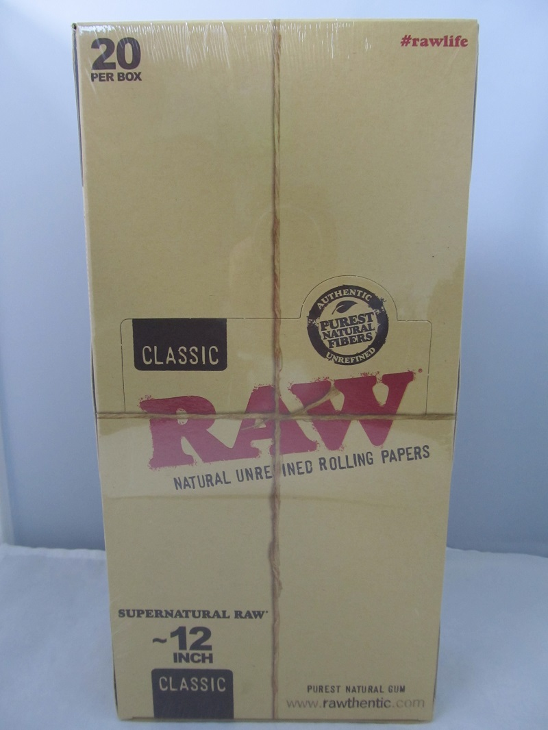 Raw Classic Supernatural 12 inch Paper 20ct