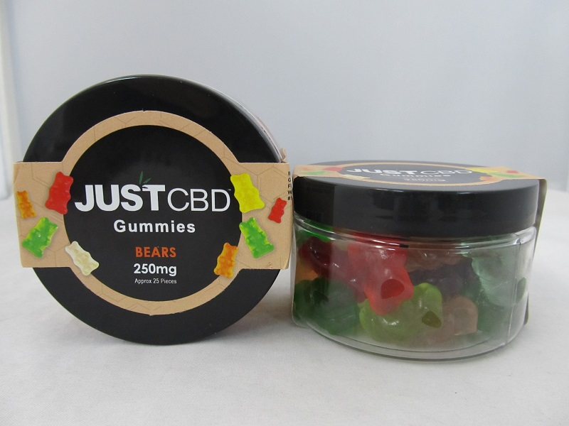 JUST CBD Gummies 250mg (Gummy Bears)