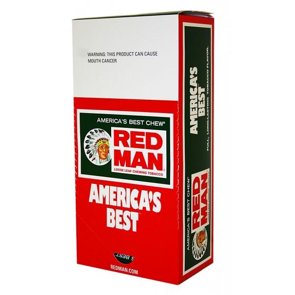 Red Man Chew 12ct 3oz Pouches